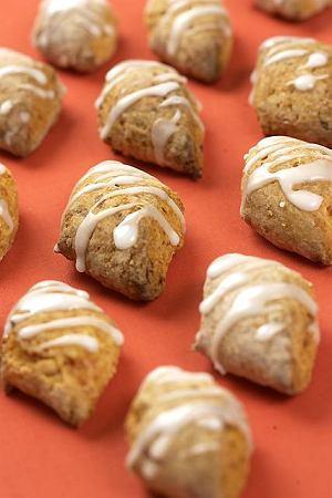 Fafernuchy - ciasteczka marchewkowo-miodowe