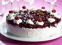 Tort wiśniowy - ugotuj