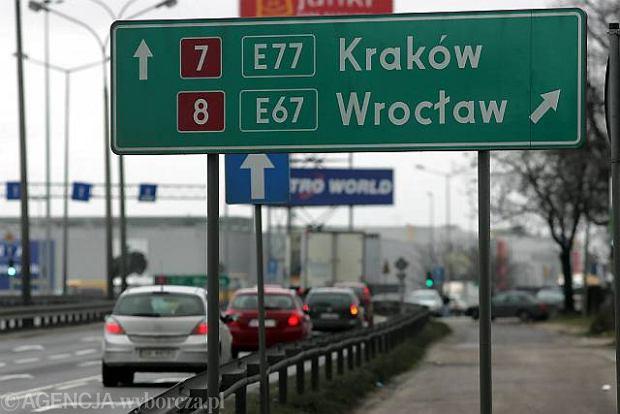 Oporny start tras ekspresowych dla Warszawy