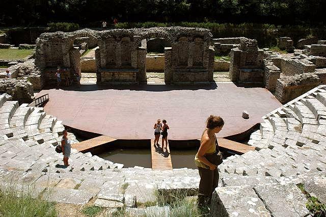 Amfiteatr w Butrinti