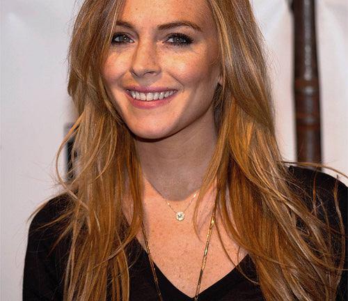 Lindsay Lohan stawia na naturalność