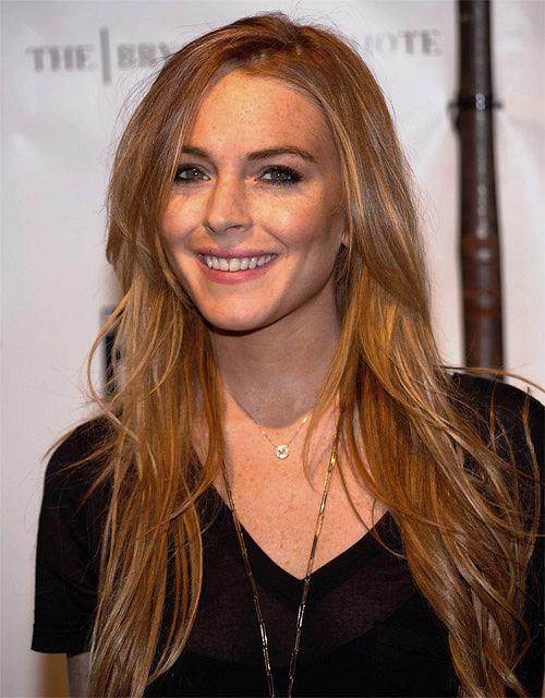 Lindsay Lohan stawia na naturalno��