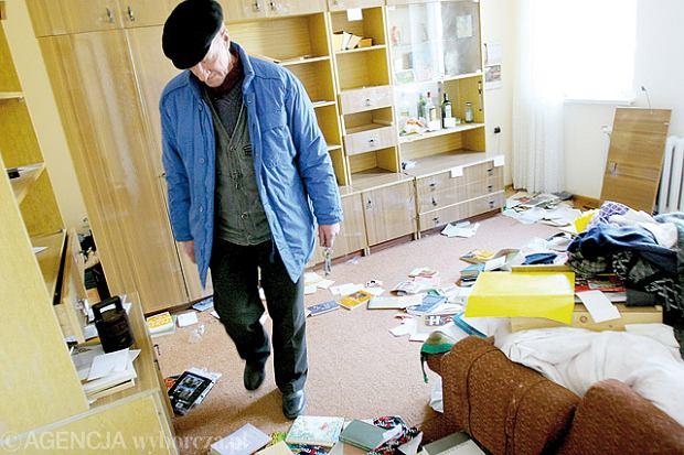 15.01.2008  ZIELONA GORA CIOSANIEC MORDERSTWO KSIADZ PLEBANIA    FOT. MARCIN OLEJNICZAK / AGENCJA GAZETA