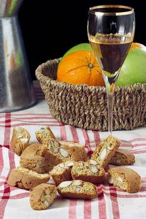 Cantucci (toska�skie ciasteczka)