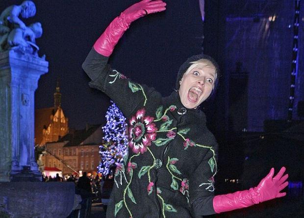 Odeta Moro-Figurska zepsuje kolejny program