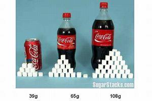Pijemy mniej s�odzonych napoj�w, bo cukier szkodzi. Coca-cola w�a�nie na tym... zarabia