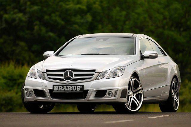 Nowe coupe E-klasy od Brabusa