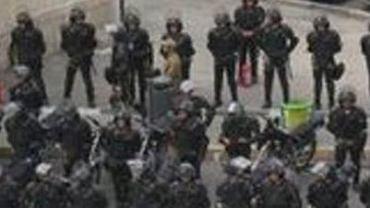 Policja w Teheranie, 20.06.2009