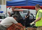 Warszawa: bijatyka z handlarzami