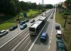 Autobusy wynios� si� z trambuspasa na Trasie W-Z