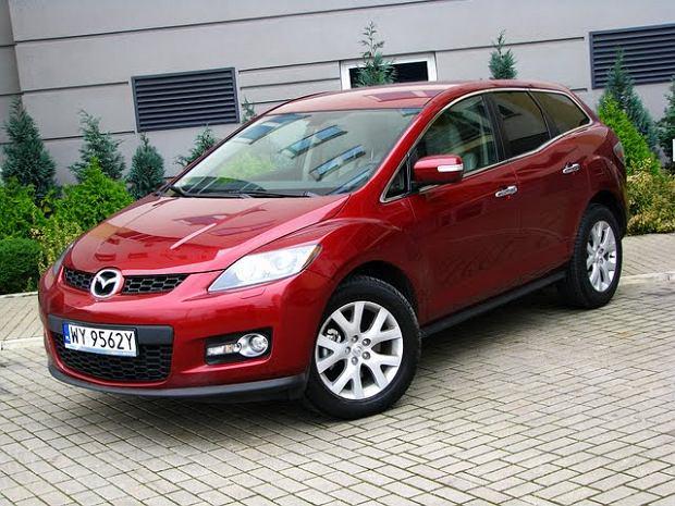 Mazda CX-7 - test | Za kierownicą