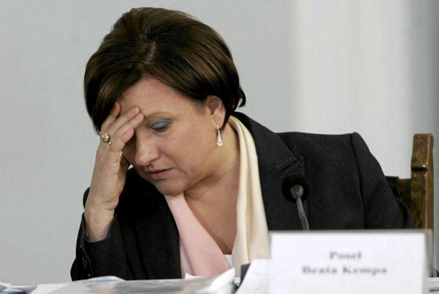 Posłanka Kępa (jeszcze bez tipsów) Fot. Wojciech Olkuonik / Agencja Gazeta