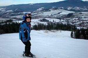 Z dzieckiem na narty. Rabka i Rohacze