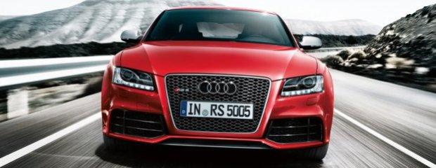Audi RS5 - test   Za kierownicą