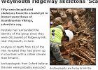 Masowy grób Wikingów na Wyspach. Ofiarom odcięto głowy