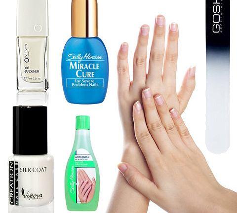 Problem: rozdwajające się paznokcie
