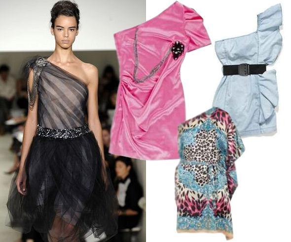 Asymetryczne sukienki