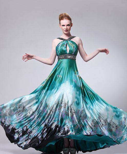 Sukienki na wesele, ok. 520 z� (prompartydresses.com)