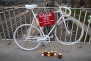 Rower pamięci Kasi, rowerzystki która zginęła na moście Dworcowym