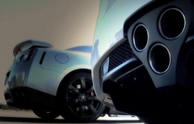 GT-R w starciu z LFA | Wideo