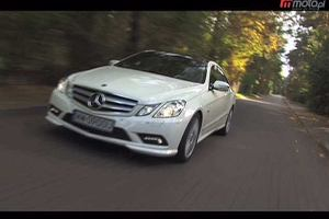 Mercedes E 350 CDI Coupe | Test wideo