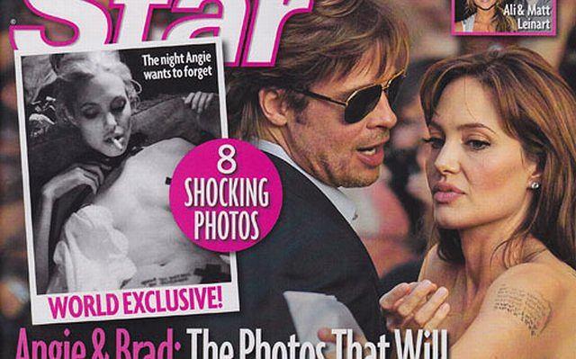 Okładka Star Magazine z Angeliną Jolie