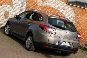 Renault Megane Grandtour 1.9 dCi - test | Za kierownic�