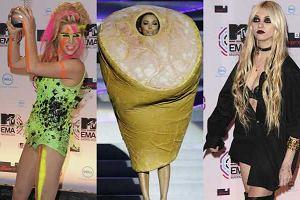 Rozdanie MTV European Music Awards 2010 w Madrycie. Gwiazdy postara�y si�, by ich obecno�� nie przesz�a niezauwa�ona.