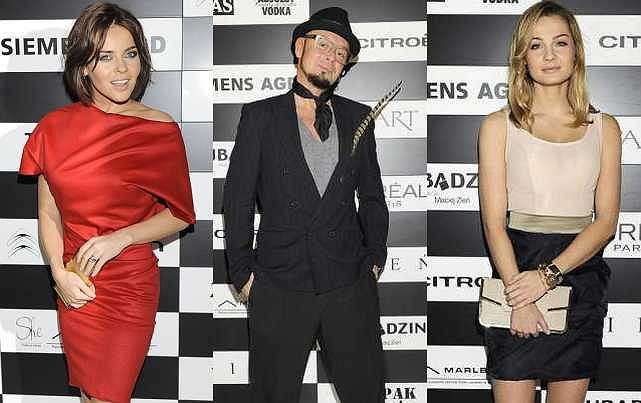 Na wczorajszym pokazie Macieja Zienia w hotelu Hilton pojawiło się mnóstwo gwiazd. Zobaczcie kto się w co ubrał.