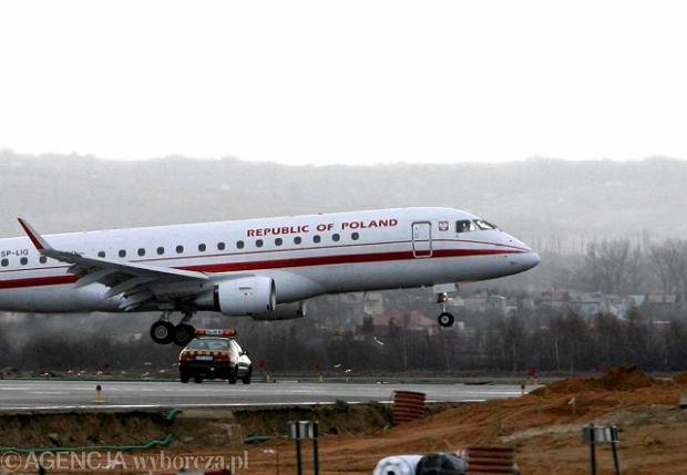 Kiedy umowa na samoloty dla VIP-�w? MON: Post�powanie wstrzymane na pro�b� Kancelarii Prezydenta