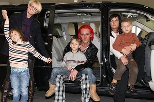 Micha�owi uda�o si� zebra� w salonie samochodowym prawie ca�� rodzin�. Pojawi�a si� Mandaryna z dzie�mi, oraz najnowsza partnerka Dominika Tajner-Idzik z synem. Zabrak�o tylko Ani �wi�tczak.