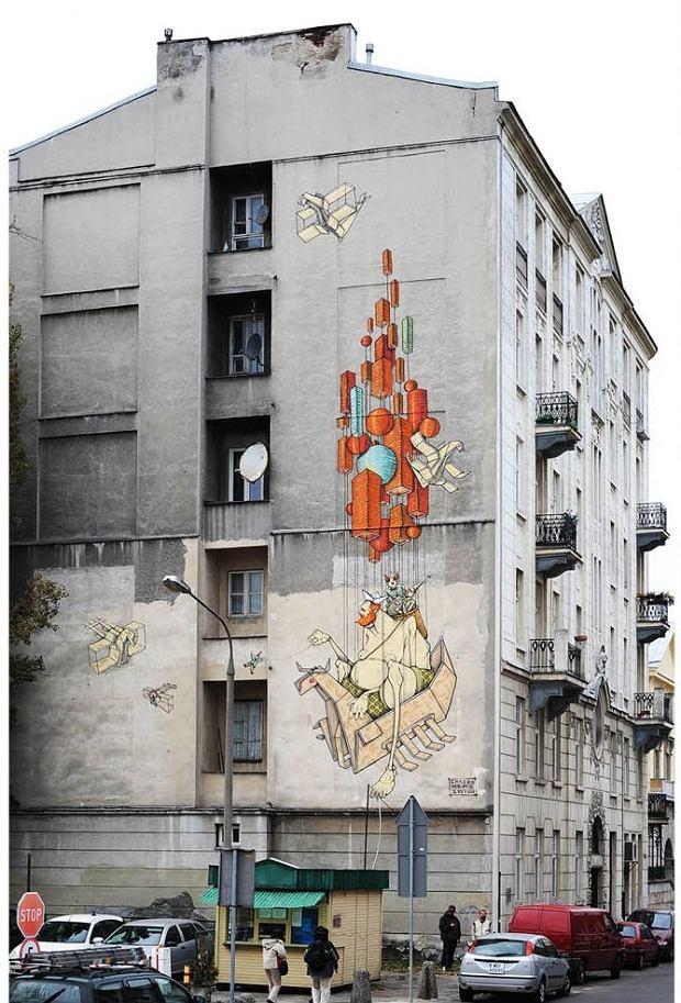 Warszawa, Akcja Urban Art