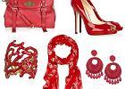 Dodatki w odcieniach czerwieni