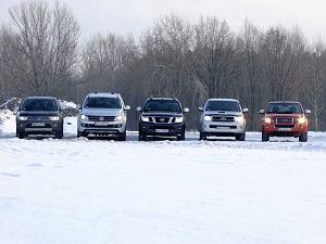 Porównanie pikapów   Nissan Navara, Isuzu D-Max, Toyota Hilux, Mitsubishi L200, Volkswagen Amarok