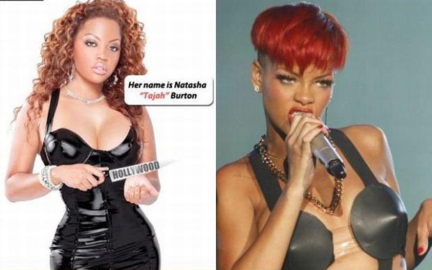 Tajah Burton i Rihanna