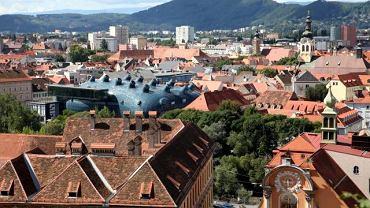 Panorama Grazu z UFO
