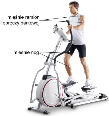 siłownia, orbitrek, fitness, Kettler