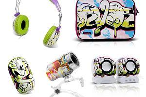 Akcesoria komputerowe z graffiti