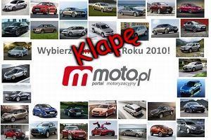 Wybieramy Samochodową Klapę Roku 2010