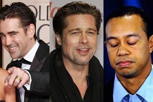 Colin Farrell, Brad Pitt, Tiger Woods.