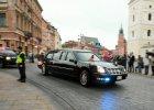 Nagana dla policjanta za alkohol podczas wizyty Obamy