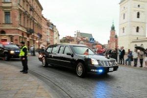 Obama l�duje w Warszawie. Uwaga na zamkni�te ulice