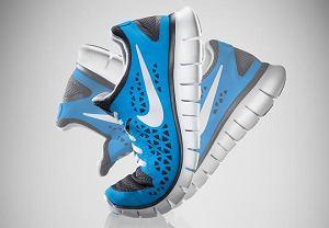 Bardzo elastyczny, amortyzowany but do biegania naturalnego Nike Free