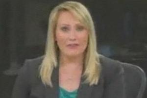 Mega wpadka dziennikarki na �ywo. WIDEO