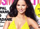 "Paulina Sykut w ��tym bikini na ok�adce ""Cosmopolitan"""