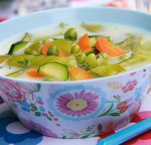 Zupa Z Zielonym Groszkiem I Cukinia Prosty Przepis I Skladniki
