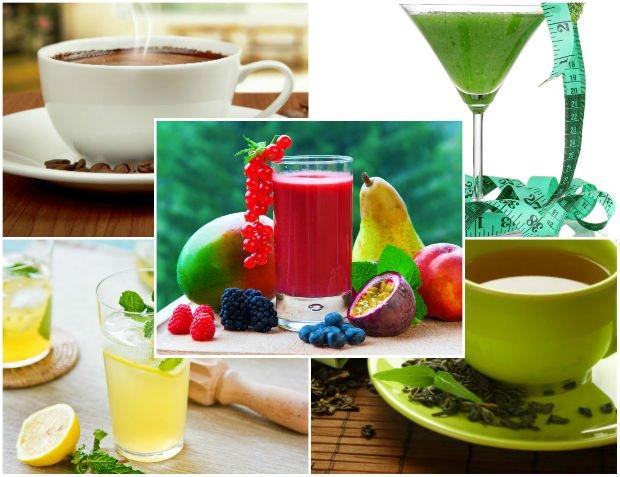 5 napoj�w, kt�re wspomagaj� odchudzanie