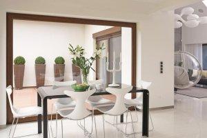Wnętrza: minimalizm udomowiony