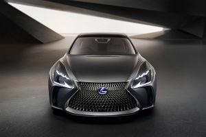 Lexus LS | Nowy flagowiec z ogniwami paliwowymi