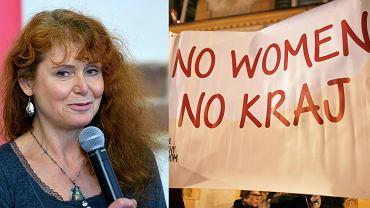 Ewa Siedlecka; Czarny Protest